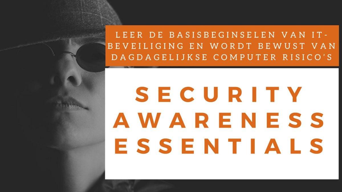 Security Awareness Essentials Klassikale Training (Nederlands)