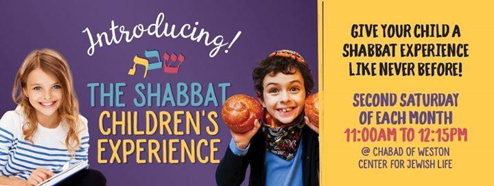The Shabbat Childrens Experience