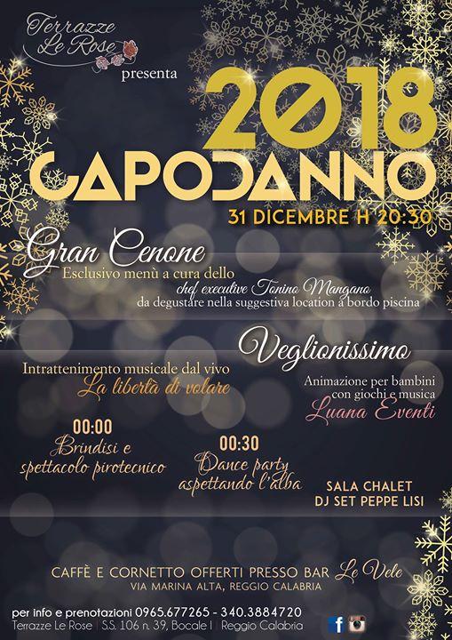 Notte Di San Silvestro At Terrazze Le Rose Reggio Di Calabria