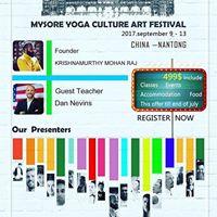 Mysore Yoga Culture Art Festival