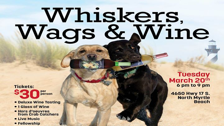 Whiskers Wags & Wine benefit HSNMB
