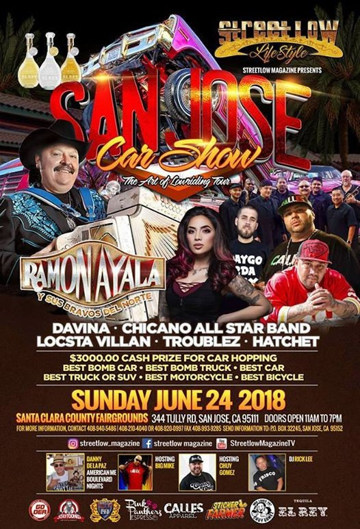 StreetLow San Jose Car Show Concert At Santa Clara County - San jose car show