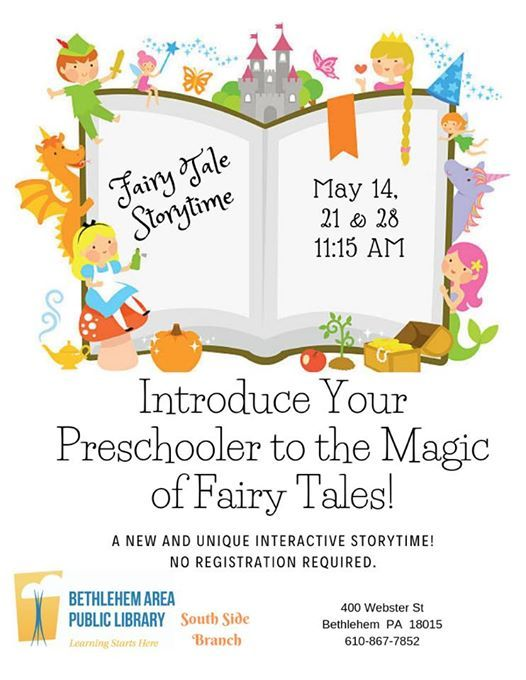Fairy Tale Interactive Story Time at the South Side Branch