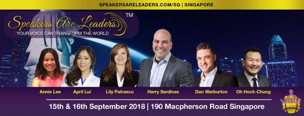 Speakers Are Leaders Singapore Workshop