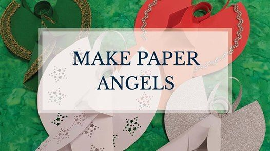 make paper angels with us