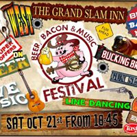 Beer Bacon and Music Festival.