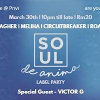 LivePrivi with Soul De Anima Label Party