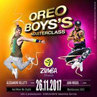 The Oreo Boyss Masterclass Zumba(r) Fitness