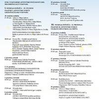 XVIII. vukovarske adventske sveanosti 2015. MILOSRDNO LICE VUKOVARA