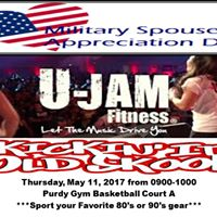Military Spouse Appreciation Day U-JAM Fitness Party