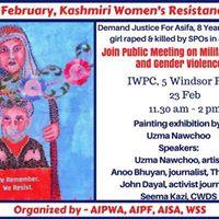 Kashmiri Womens Resistance Day