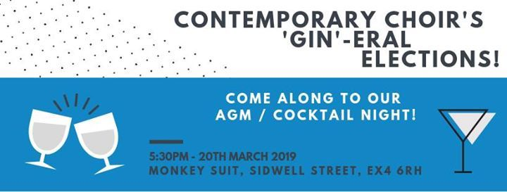 Contemporary Choirs Gin-eral Elections
