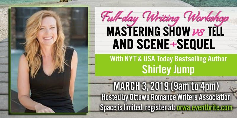Full Day Writing Workshop with Shirley Jump