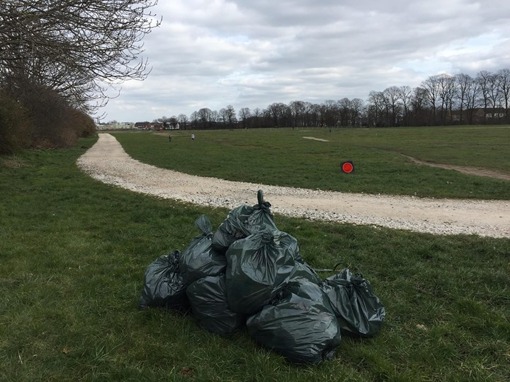 Stafford Common Litter pick (& isobel trail path along the side
