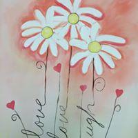 &quotLive Laugh Love&quot Social Painting Class - Special BRUNCH Event