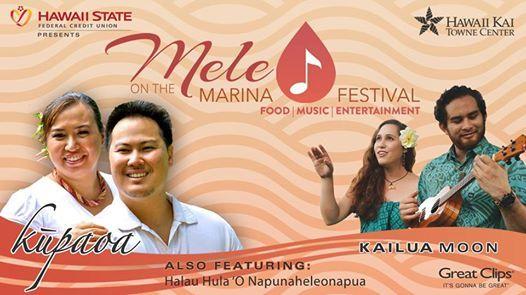 Mele On The Marina Festival At Hawaii Kai Towne Center Honolulu