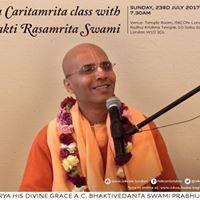 Caitanya Caritamrita class with HH Bhakti Rasamrita Swami