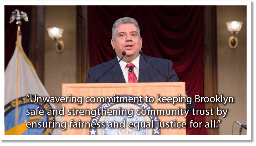 Community Forum with Brooklyn District Attorney Eric Gonzalez