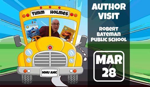 Author Visit Robert Bateman Public School