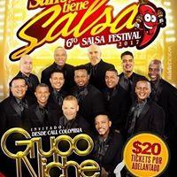 Grupo Niche en Festival San Jose tiene Salsa Agosto 20