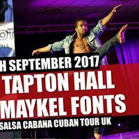 Sheffield Tapton Salsa  Maykel Fonts  DJ Felipe  DJ Gillian