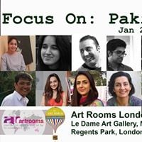 Focus On Pakistan - Art-rooms Fair London 2018