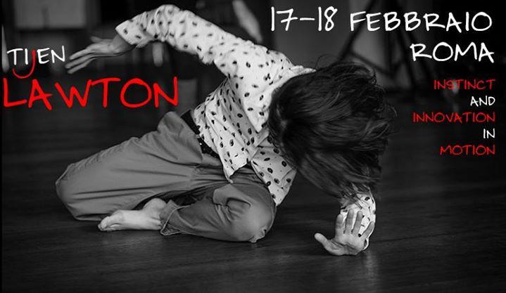 Tijen Lawton in rome 17-18 febbraio