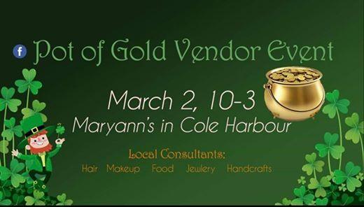 Pot Of Gold vendor event