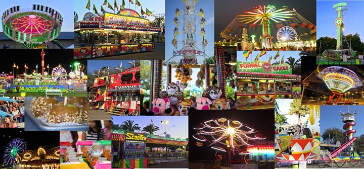 Chowchilla Fair 2020.Midway Of Fun Carnival At Chowchilla Madera County Fair