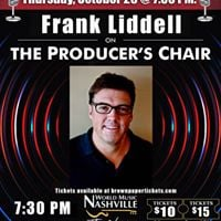 Frank Liddell on The Producers Chair - Live Episode Taping