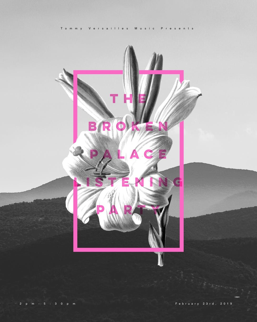 The Broken Palace EP Listening Party