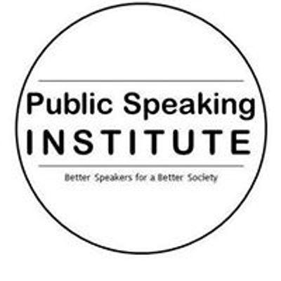 Public Speaking Institute