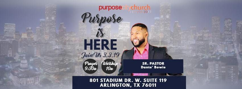 Purpose City Church Worship Experience Launch