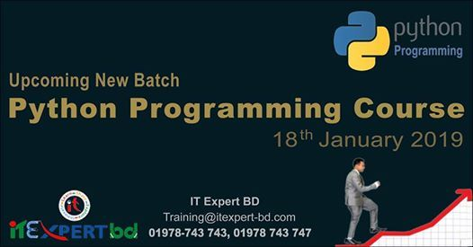 Upcoming Batch Python Programming Training Course at IT