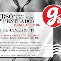 Curso de Preparao e Montagem de Penteados by Gui Andrade