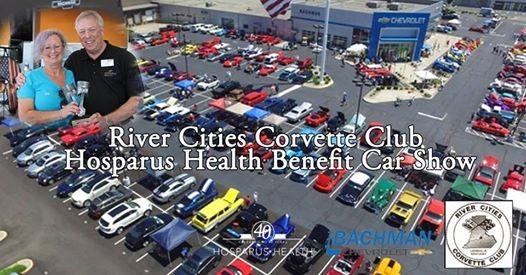 River Cities Corvette Club Car Show   Benefiting Hosparus Health