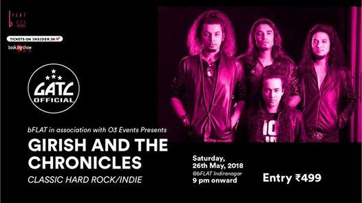 Girish & The Chronicles (GATC) Classic Hard RockIndie