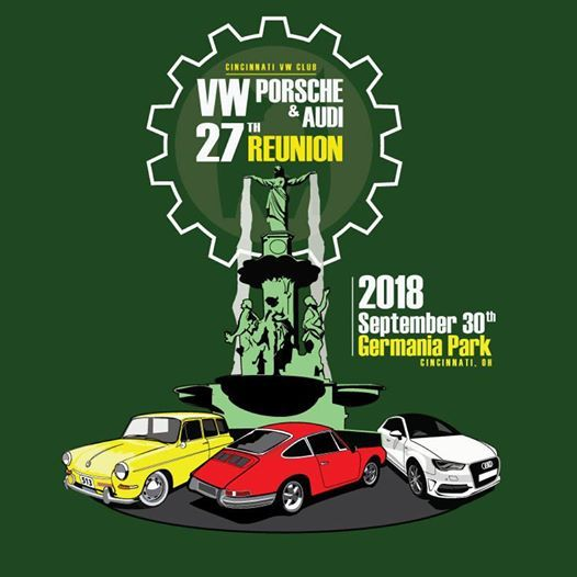 VW Porsche Audi Car Show And Swap Meet At Germania Society Cincinnati - Car show in cincinnati this weekend