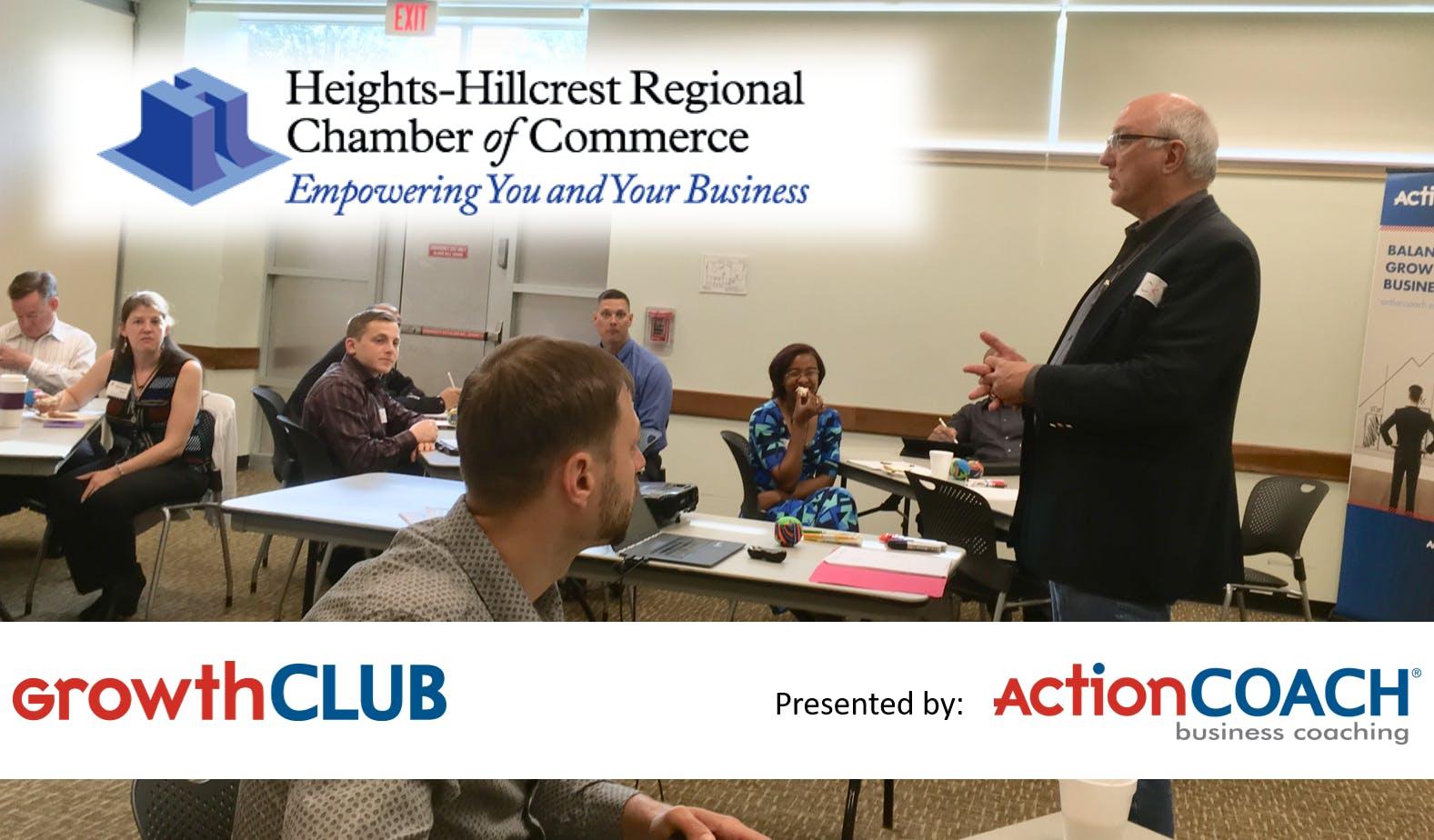HRCC GrowthCLUB 2018 - 90 Day Planning