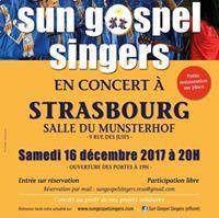 Concert salle du Munsterhof  Strasbourg