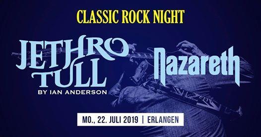 Classic Rock Night  Jethro Tull by Ian Anderson & Nazareth