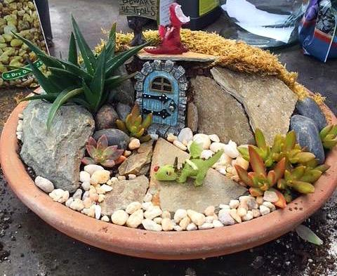 Superbe Themed Fairy Garden Workshop At Green Side Up   Garden And Gift Center,  Fayetteville