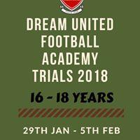 Football Trials u-16 and u-18 for residential football academy