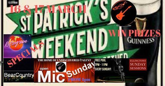St Patricks Celebration Weekend w Guinness