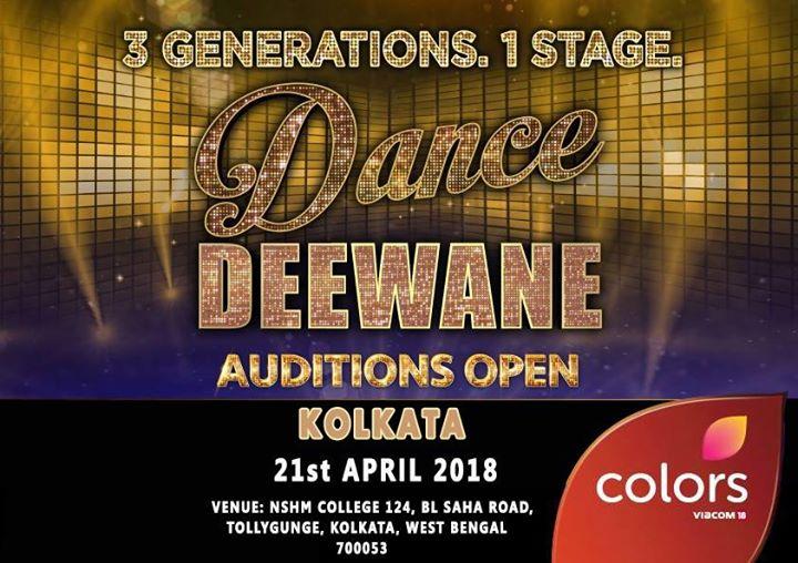 Colors TV Dance Deewane 2018 Kolkata Audition