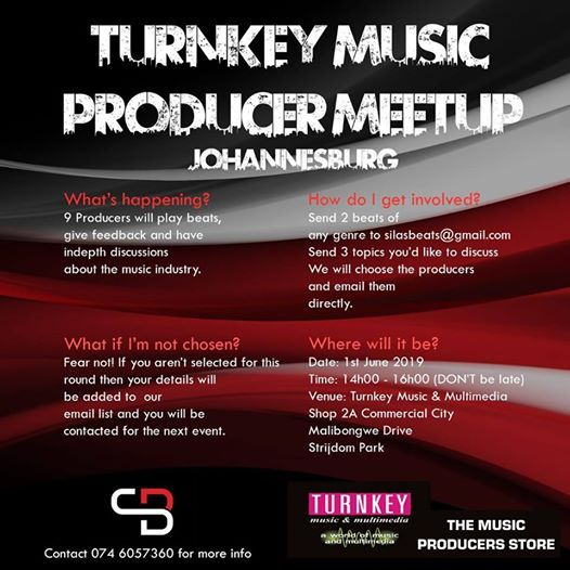 Producer Meetup at TURNKEY MUSIC & MULTIMEDIA, Johannesburg