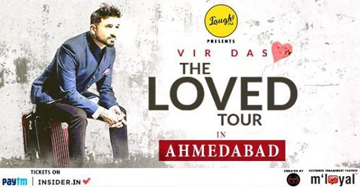 Vir Das live in Ahmedabad - TheLovedTour