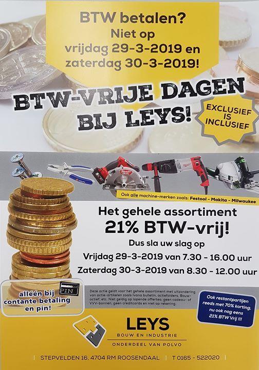 BTW - Vrije Dagen