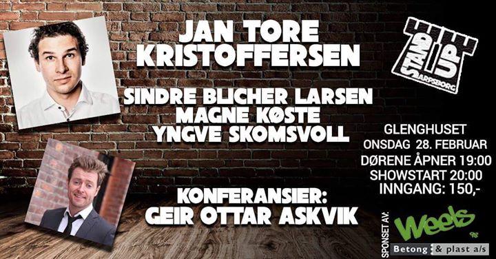 Standup Sarpsborg 28. februar - Klubbkveld