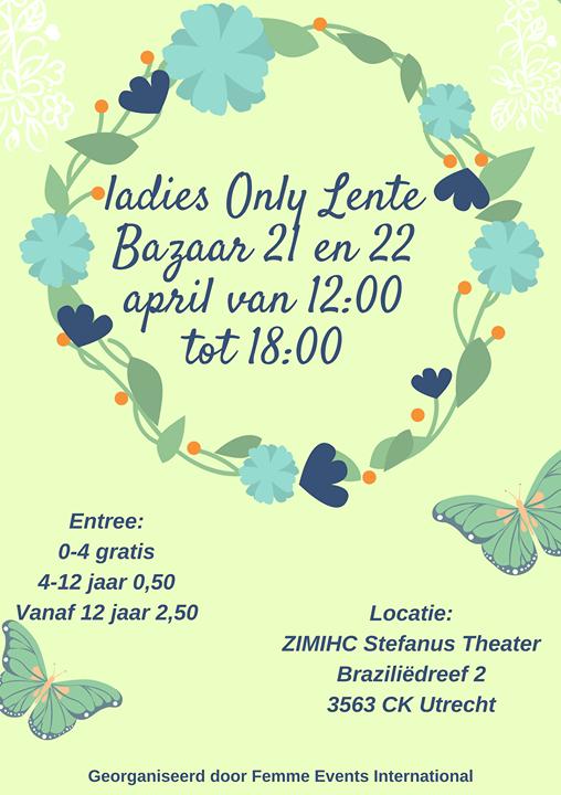 Ladies Only Lente Bazaar Utrecht